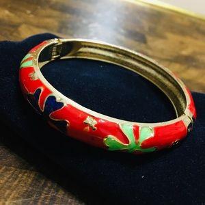 Red & Gold Magnetic Bracelet